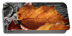 Golden Leaf Portable Battery Charger