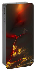 Golgotha Portable Battery Charger by Greg Moores