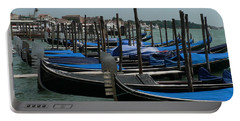 Portable Battery Charger featuring the photograph Gondolas by Laurel Best