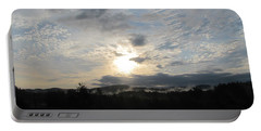 Portable Battery Charger featuring the photograph Good Morning New York State by Maciek Froncisz