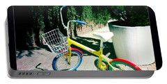 Portable Battery Charger featuring the photograph Google Mini Bike by Nina Prommer