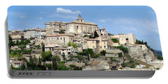 Portable Battery Charger featuring the photograph Gordes In Provence by Carla Parris