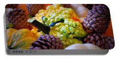 Portable Battery Charger featuring the photograph Gourds 2 by Deniece Platt