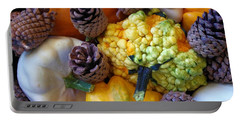 Portable Battery Charger featuring the photograph Gourds 5 by Deniece Platt