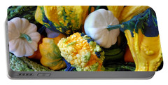 Portable Battery Charger featuring the photograph Gourds 8 by Deniece Platt