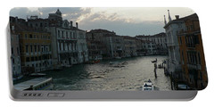 Portable Battery Charger featuring the photograph Grand Canal At Dusk by Laurel Best