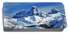 Grand Teton Winter Portable Battery Charger