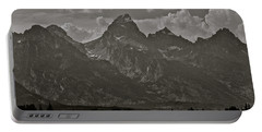 Portable Battery Charger featuring the photograph Grand Tetons by Eric Tressler