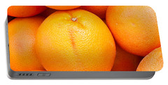 Grapefruit Portable Battery Charger by Tom Gowanlock