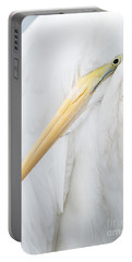 Portable Battery Charger featuring the photograph Great Egret by Doug Herr