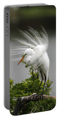 Great Egret Portable Battery Charger