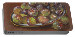 Greek Figs Portable Battery Charger