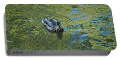 Portable Battery Charger featuring the photograph Green Pool by Joseph Yarbrough