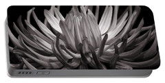 Grey Dahlia Portable Battery Charger