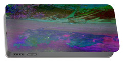 Portable Battery Charger featuring the digital art Grow by Richard Laeton