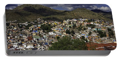 Guanajuato Vista No. 1 Portable Battery Charger by Lynn Palmer