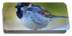 Guard Bird Portable Battery Charger by Colleen Coccia