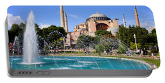 Hagia Sofia In Istanbul Portable Battery Charger
