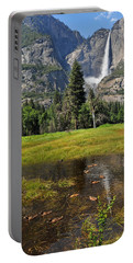 Portable Battery Charger featuring the photograph Happy Campers by Lynn Bauer