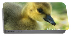 Happy Easter Gosling Portable Battery Charger