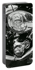 Harley Davidson Bike - Chrome Parts 02 Portable Battery Charger