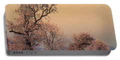 Portable Battery Charger featuring the photograph Frost 2 by Linsey Williams