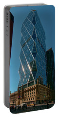 Hearst Building Portable Battery Charger