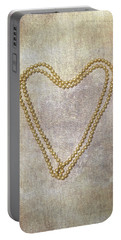 Heart Of Pearls Portable Battery Charger