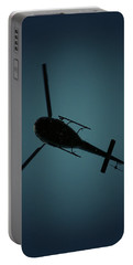Helicopter Silhouette Portable Battery Charger