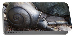Portable Battery Charger featuring the photograph Hermit Crab by Chalet Roome-Rigdon