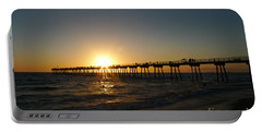 Hermosa Beach Sunset Portable Battery Charger