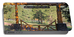 Hidden Meadow Ranch Portable Battery Charger by Pamela Walrath