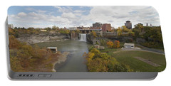 Portable Battery Charger featuring the photograph High Falls by William Norton