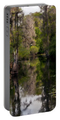 Hillsborough River In March Portable Battery Charger