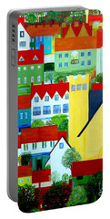 Hillside Village Portable Battery Charger