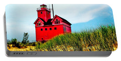 Holland Harbor Lighthouse Portable Battery Charger