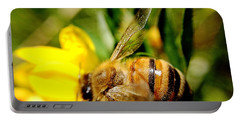 Honey Bee Portable Battery Charger by Chriss Pagani