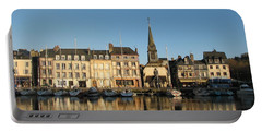 Portable Battery Charger featuring the photograph Honfleur  by Carla Parris