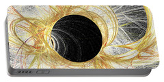 Portable Battery Charger featuring the digital art Horizon by Kim Sy Ok