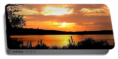 Horn Pond Sunset 2 Portable Battery Charger