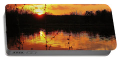 Horn Pond Sunset 8 Portable Battery Charger
