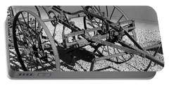 Horse Drawn Plow Portable Battery Charger by Pamela Walrath