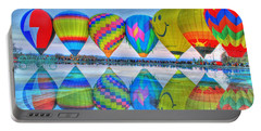 Hot Air Balloons At Eden Park Portable Battery Charger