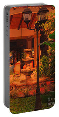 Portable Battery Charger featuring the photograph Hotel Alhambra by Lydia Holly
