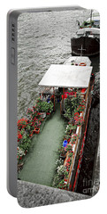 Houseboats In Paris Portable Battery Charger