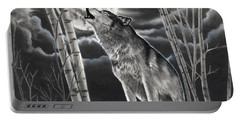 Howling At The Moon Portable Battery Charger