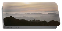 Huangshan Sunrise Panorama 1 Portable Battery Charger