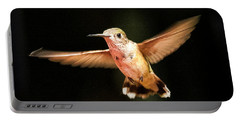 Portable Battery Charger featuring the photograph Hummingbird  by Albert Seger
