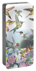 Hummingbirds Galore Portable Battery Charger