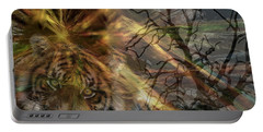 Portable Battery Charger featuring the photograph Hunter by EricaMaxine  Price